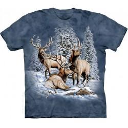 Τάρανδοι στο χιόνι T-Shirt