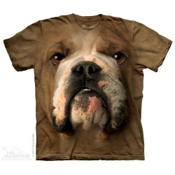 Bulldog face T-Shirt